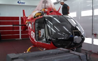 Paradigm Aerospace Corporation improves timeline with new paint booth