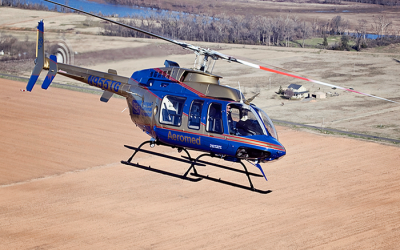 Metro Aviation and Paradigm Aerospace Corporation deliver and operate Bell 407 GX's for Tampa General Hospital